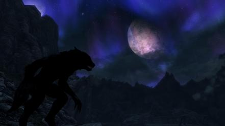 Werewolf the elder scrolls v: skyrim wallpaper