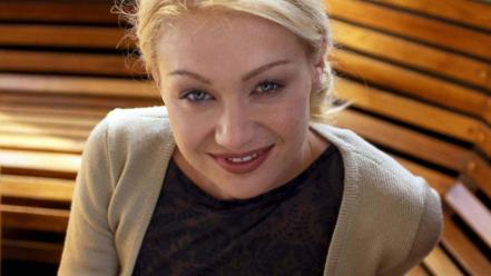 Portia de Rossi Face wallpaper