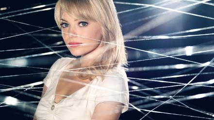 Stacy marvel spider webs the amazing bangs wallpaper