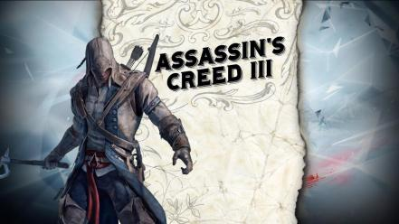 American assassins creed 3 connor kenway wallpaper