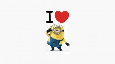 Love yellow grim despicable me i you guy Wallpaper