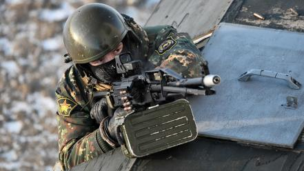 Soldiers eotech spetsnaz rpk russian Wallpaper