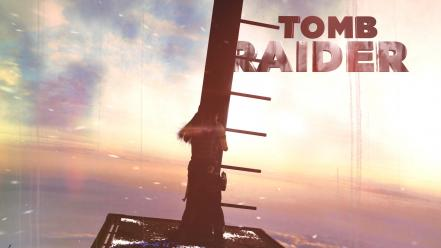 Tomb raider skies sunny rise 2013 reborn Wallpaper