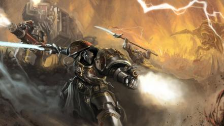 Video games artwork warhammer 40k Wallpaper