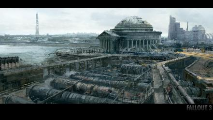 Dystopia fallout 3 apocalyptic wallpaper
