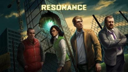 Fences people hospital attack game art resonance wallpaper