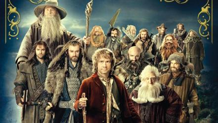 Gandalf dwarfs the hobbit bilbo baggins wallpaper