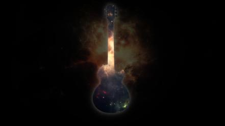 Gibson les paul rock music n roll wallpaper