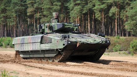 Isaf heer armoured personnel carrier forest spz Wallpaper