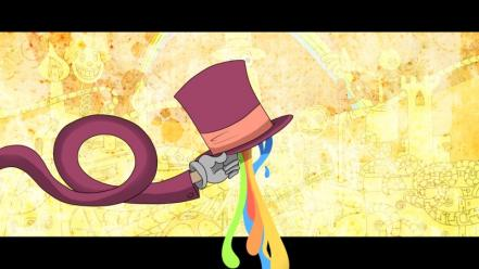 Rainbows superjail hats the warden wallpaper