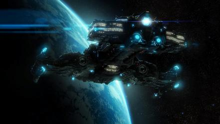 Video games starcraft battlecruiser ii wallpaper