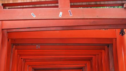 Japan fushimi inari shrine wallpaper