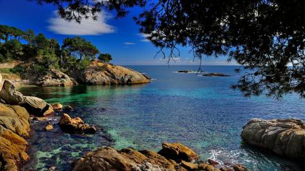 Nature spain catalonia wallpaper