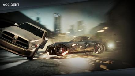 Need for speed accident most wanted 2 Wallpaper