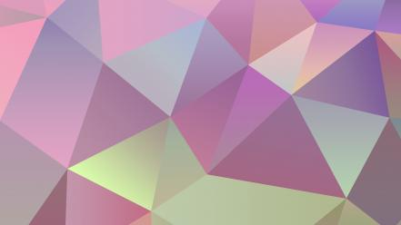 Abstract minimalistic jelly candy bean simple triangles clean wallpaper