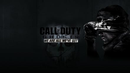 Black call of duty ghosts wallpaper
