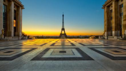Eiffel tower paris cities wallpaper