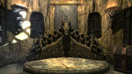 Video games the elder scrolls v: skyrim wallpaper