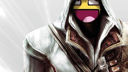 Assassins smiley awsome creed epic wallpaper