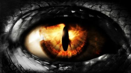 Eyes dragons eye wallpaper