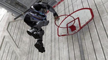 Halo slam dunk master chief Wallpaper