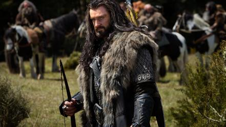 Hobbit scenes thorin oakenshield richard armitage films wallpaper
