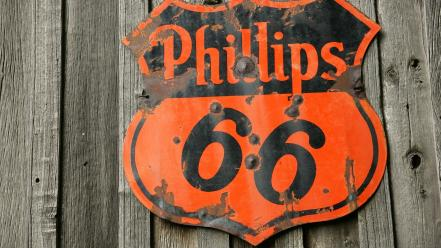 Vintage sign wallpaper