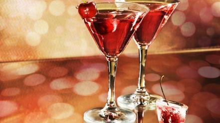 Alcohol cherries bokeh drinks margarita wallpaper