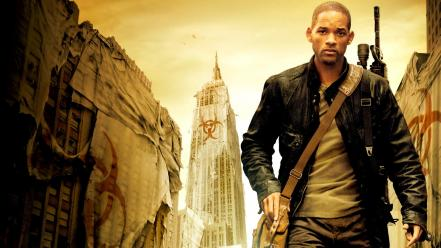 Movies will smith i am legend wallpaper
