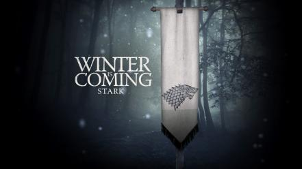 Of thrones winter is coming house stark wallpaper