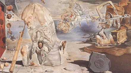 Paintings surrealism salvador dalí Wallpaper