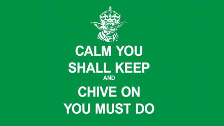 Simple background green kcco the chive chiveon wallpaper