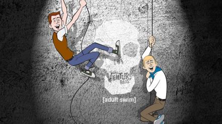 Skulls the venture bros. adult swim hank dean Wallpaper