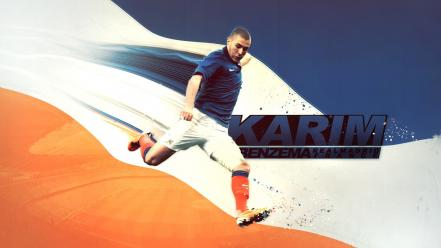 Soccer france karim benzema wallpaper
