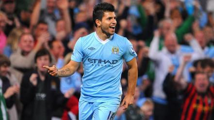 Soccer manchester city football teams sergio aguero wallpaper