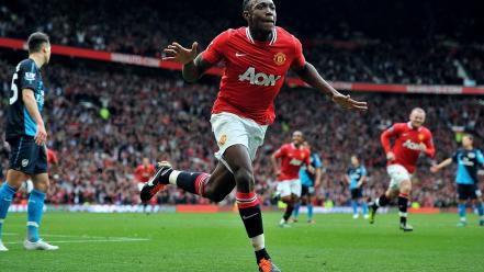 Soccer manchester united danny welbeck wallpaper
