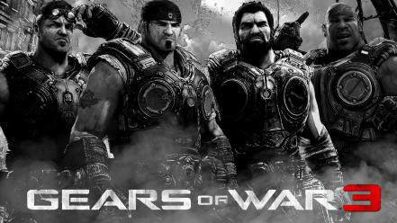 Games gears of war 3 game characters wallpaper