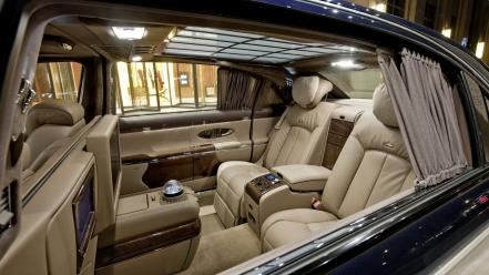 Leather cars vehicles maybach 62 s luxury wallpaper