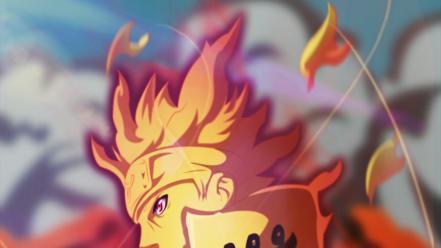 🥇 Naruto: shippuden uzumaki naruto amaterasu chakra mode