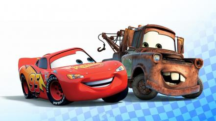 Pixar movies cars mater lightning mcqueen disney Wallpaper