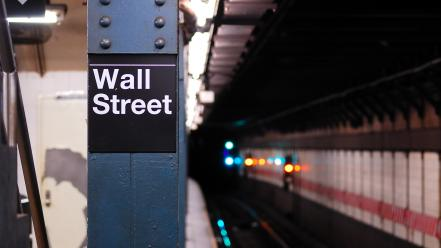 Station wall street cities Wallpaper