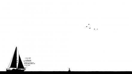 Black and white xkcd drawings Wallpaper