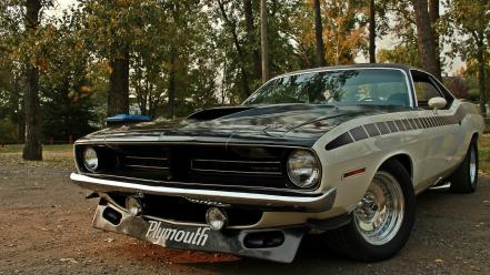 Cars plymouth barracuda Wallpaper