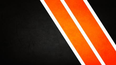 Minimalistic orange stripes wallpaper