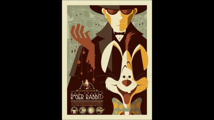 Movie posters roger rabbit who framed wallpaper