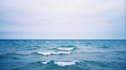 Water ocean infinity waterscapes sea Wallpaper