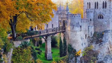 Castles trees germany lichtenstein castle bing wallpaper