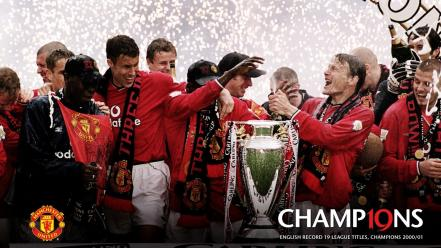 Ferguson manchester united football teams 2001 legend wallpaper