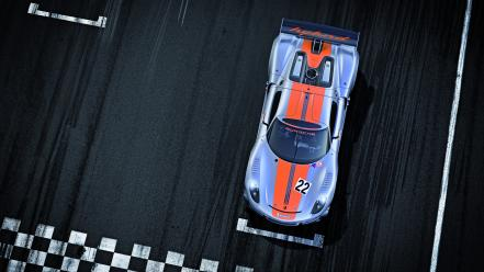 Porsche cars vehicles 918 top view german rsr wallpaper