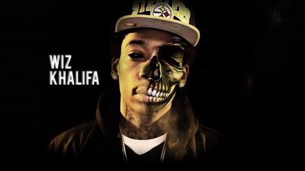 Skulls celebrity wiz khalifa demon Wallpaper